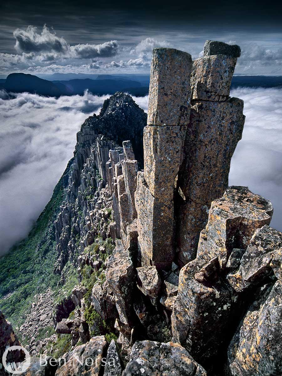 Fine art photographic print of The Acropolis, Tasmania