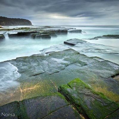 Turrimetta Beach rocks
