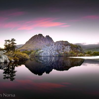 Twisted Lakes Cradle Mountain Little Horn Tasmania