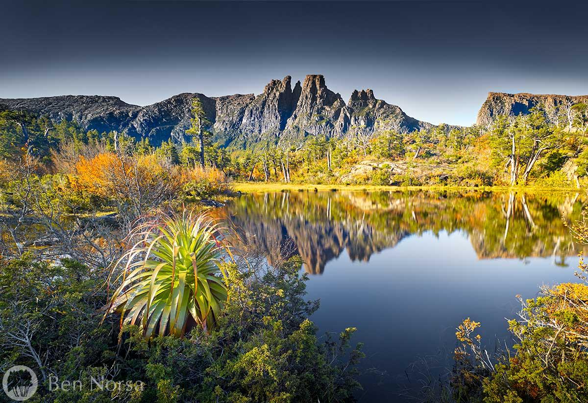 Landscape photographic print of The Pool of Memories - Tasmania