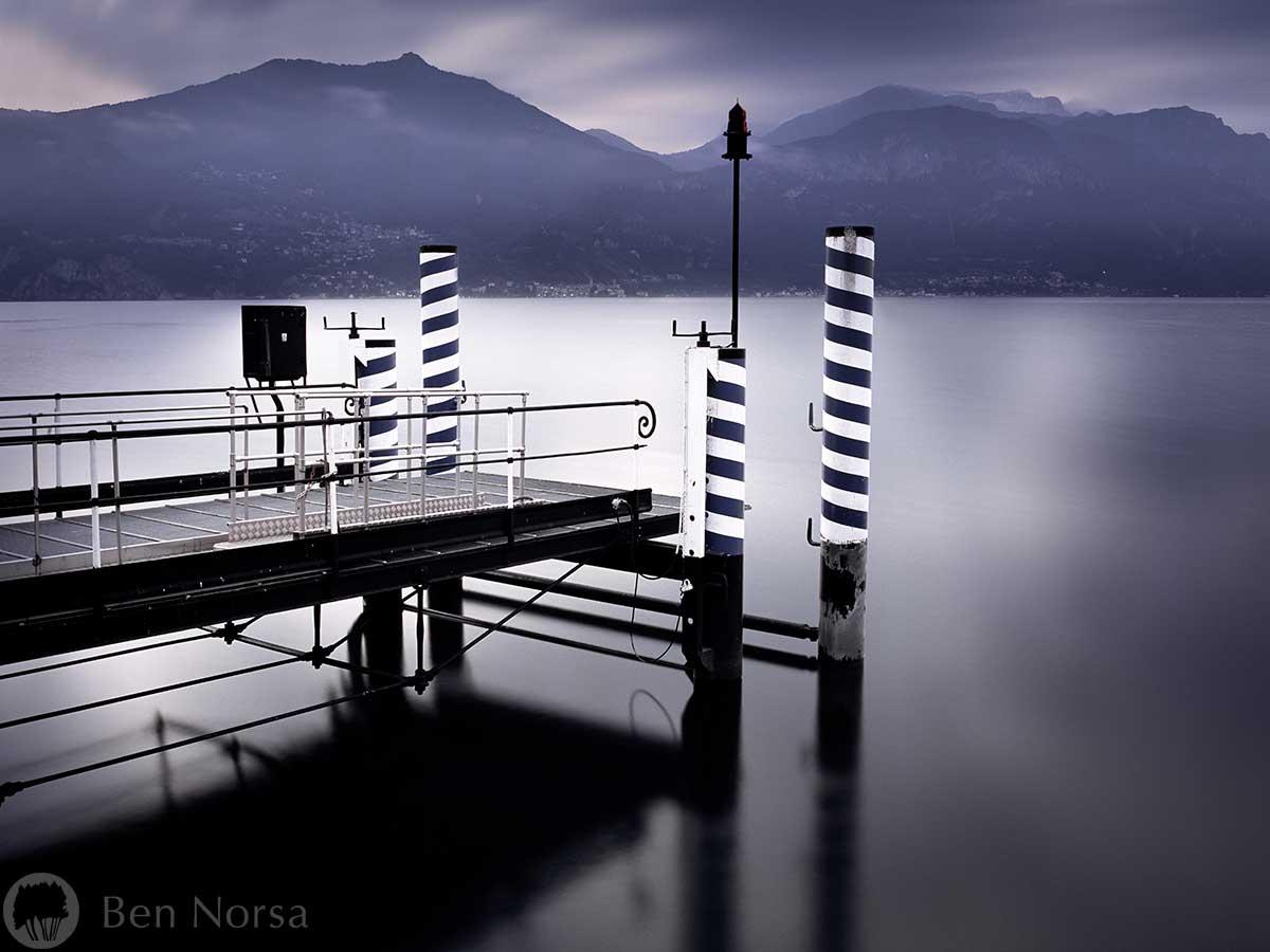 Fine art photographic print of Lake Como, Italy